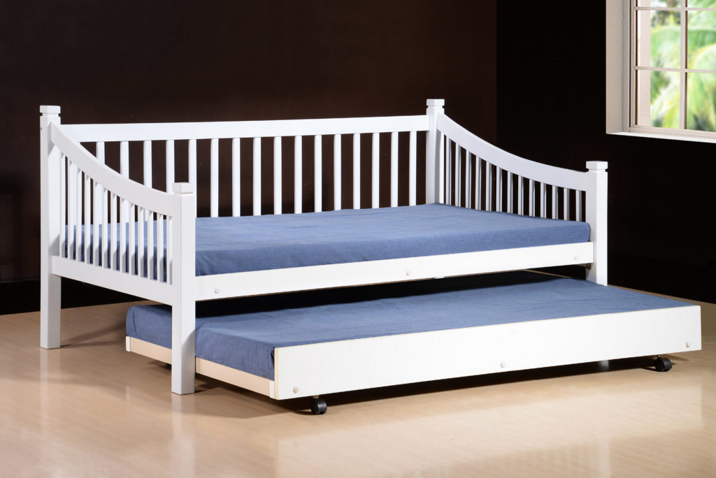 Jordan Day Bed with pullout Bed (available seperately) Available in White & Beech Colours