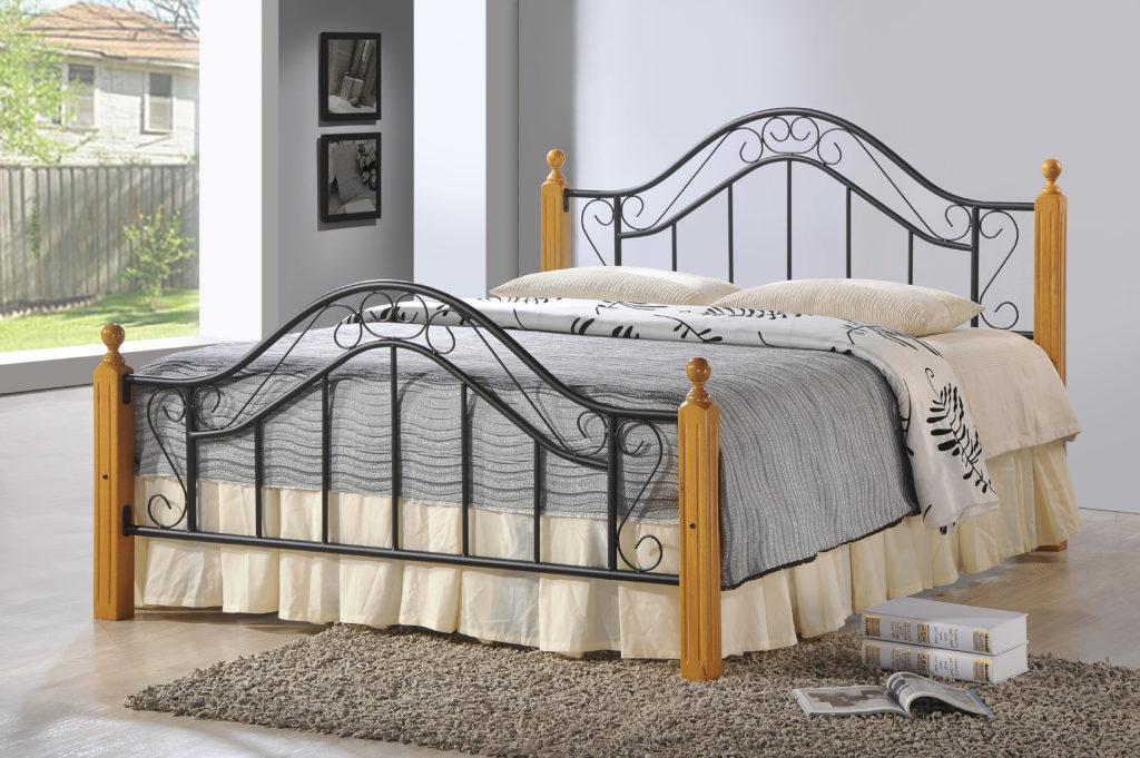 Baltimore black bed