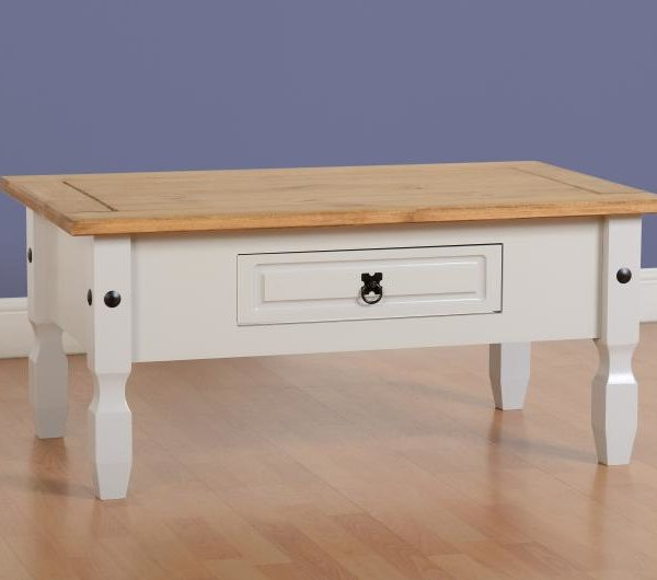 Corona 1 Drawer Coffee Table Mattressshop Ie