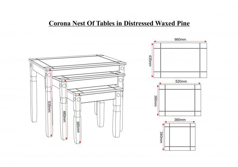corona_nest_of_tables_in_distressed_waxed_pine