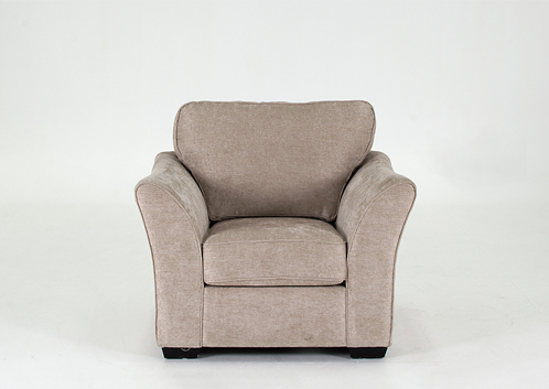 1 seater arm chair in stone €349