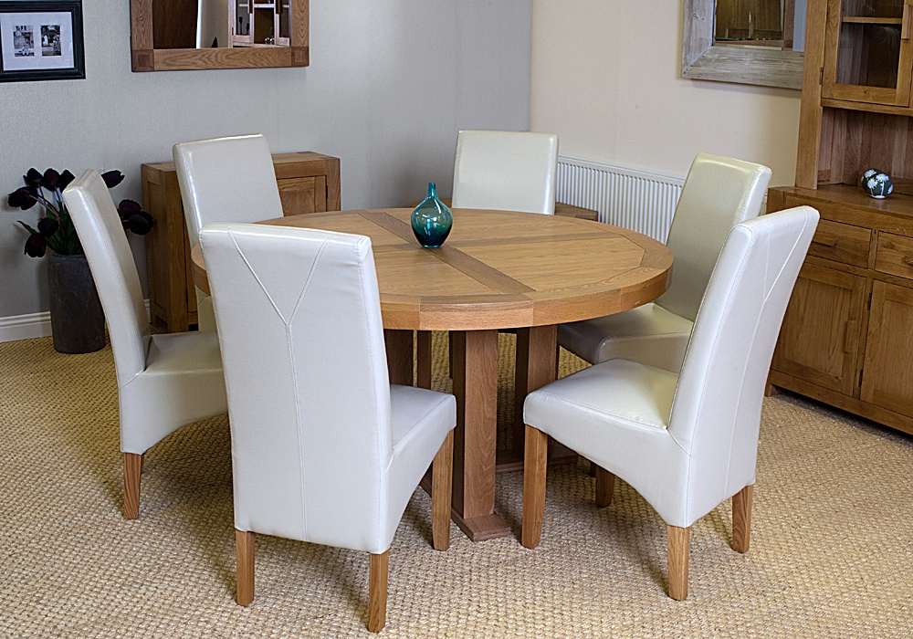 Palma 1500 Round Table And 6 Chairs Mattressshop Ie