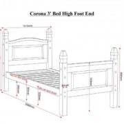 corona_3ft_bed_high_foot_end_