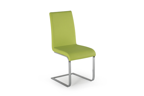 Hue Dining Chair Green - Angle