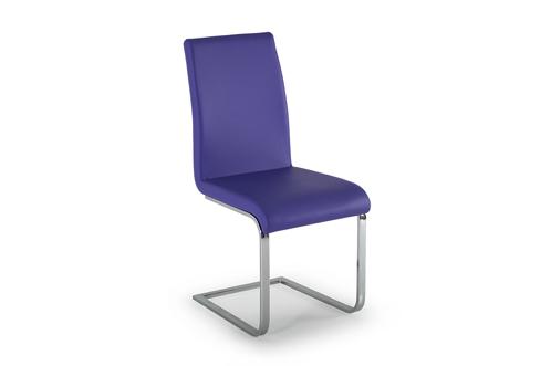 Hue Dining Chair Purple - Angle