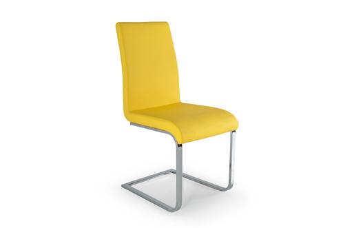 Hue Dining Chair Yellow - Angle
