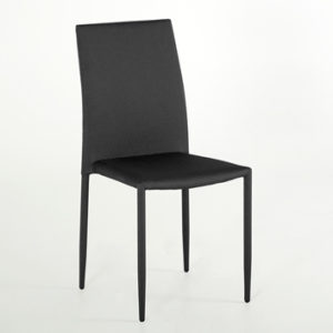 Enzo Dining Chair - Dark Grey
