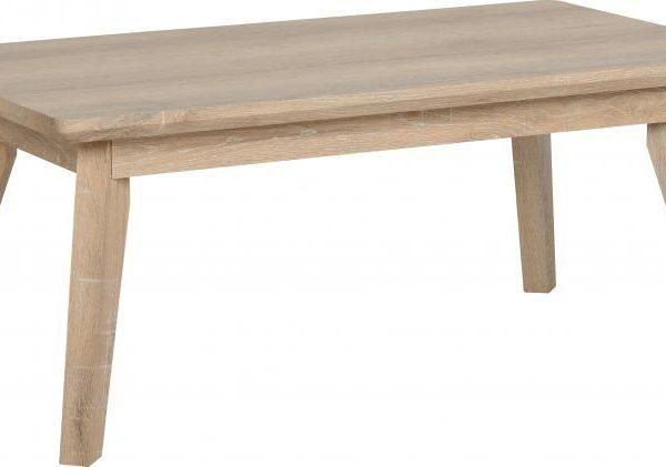 Finley Coffee Table in Medium Oak Effect Veneer