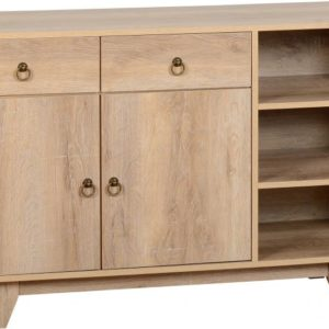Finley Sideboard in Medium Oak Effect Veneer