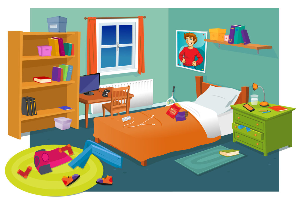 Explore the bedroom below to find out what can help or hinder your sleep.