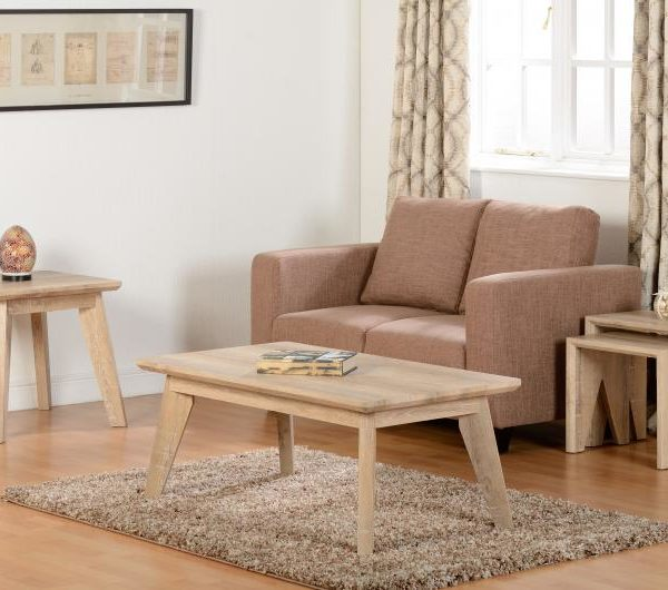 Finley Occasional Set in Medium Oak Effect Veneer