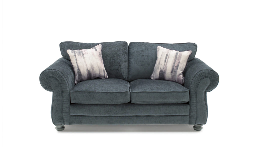 Hollins 2 Seater - Charcoal