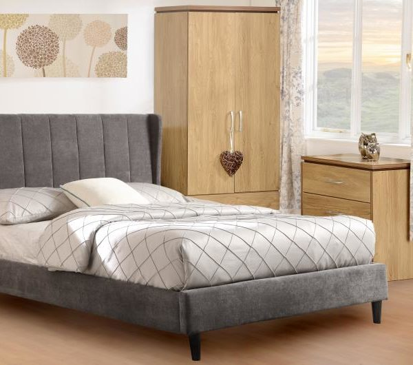 AMELIA_4ft6_BED_DARK_GREY_FABRIC_WITH_CHARLES_